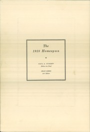 Page 8, 1928 Edition, Somerset High School - Homespun Yearbook (Somerset, KY) online yearbook collection