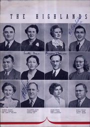 Page 16, 1945 Edition, Highlands High School - Highlander Yearbook (Fort Thomas, KY) online yearbook collection