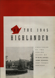 Page 9, 1945 Edition, Highlands High School - Highlander Yearbook (Fort Thomas, KY) online yearbook collection