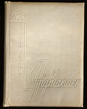 Page 1, 1946 Edition, Highlands High School - Highlander Yearbook (Fort Thomas, KY) online yearbook collection