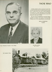 Page 14, 1960 Edition, Sul Ross State Teachers College - Brand Yearbook (Alpine, TX) online yearbook collection