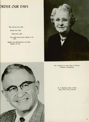 Page 17, 1960 Edition, Sul Ross State Teachers College - Brand Yearbook (Alpine, TX) online yearbook collection