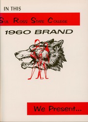 Page 5, 1960 Edition, Sul Ross State Teachers College - Brand Yearbook (Alpine, TX) online yearbook collection