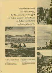 Page 10, 1975 Edition, Sul Ross State Teachers College - Brand Yearbook (Alpine, TX) online yearbook collection