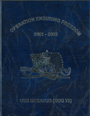 Page 1, 2002 Edition, Decatur (DDG 73) - Naval Cruise Book online yearbook collection