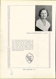 Page 12, 1934 Edition, Danville High School - Log Yearbook (Danville, KY) online yearbook collection
