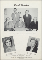 Page 11, 1955 Edition, Taylor County High School - Cardinal Yearbook (Campbellsville, KY) online yearbook collection