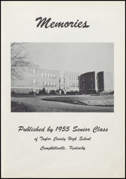 Page 7, 1955 Edition, Taylor County High School - Cardinal Yearbook (Campbellsville, KY) online yearbook collection
