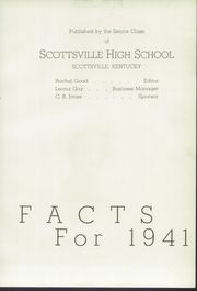 Page 11, 1941 Edition, Allen County High School - Patriot Yearbook (Scottsville, KY) online yearbook collection