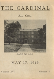 Page 1, 1949 Edition, Mayfield High School - Cardinal Yearbook (Mayfield, KY) online yearbook collection