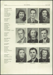 Page 14, 1949 Edition, Mayfield High School - Cardinal Yearbook (Mayfield, KY) online yearbook collection