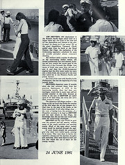 Page 15, 1981 Edition, Denver (LPD 9) - Naval Cruise Book online yearbook collection
