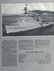 Page 7, 1981 Edition, Denver (LPD 9) - Naval Cruise Book online yearbook collection