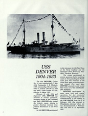 Page 8, 1981 Edition, Denver (LPD 9) - Naval Cruise Book online yearbook collection