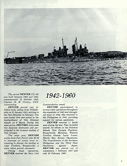 Page 9, 1981 Edition, Denver (LPD 9) - Naval Cruise Book online yearbook collection