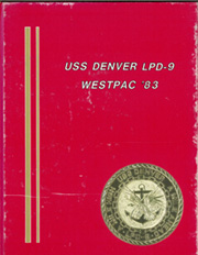 1983 Edition, Denver (LPD 9) - Naval Cruise Book