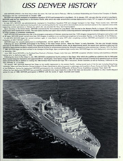 Page 15, 1989 Edition, Denver (LPD 9) - Naval Cruise Book online yearbook collection