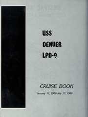 Page 6, 1989 Edition, Denver (LPD 9) - Naval Cruise Book online yearbook collection