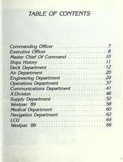 Page 9, 1989 Edition, Denver (LPD 9) - Naval Cruise Book online yearbook collection