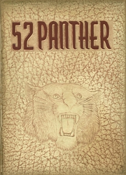 1952 Edition, Pikeville High School - Panther Yearbook (Pikeville, KY)