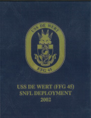 2002 Edition, De Wert (FFG 45) - Naval Cruise Book