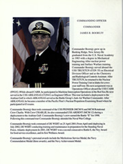Page 10, 2002 Edition, De Wert (FFG 45) - Naval Cruise Book online yearbook collection