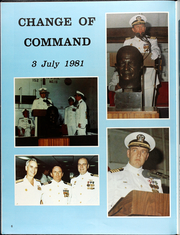 Page 10, 1982 Edition, Dwight Eisenhower (CVN 69) - Naval Cruise Book online yearbook collection