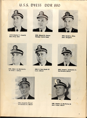 Page 11, 1954 Edition, Dyess (DDR 880) - Naval Cruise Book online yearbook collection