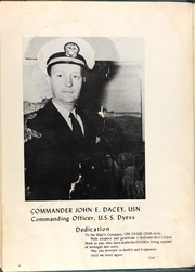 Page 8, 1954 Edition, Dyess (DDR 880) - Naval Cruise Book online yearbook collection