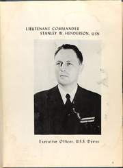 Page 9, 1954 Edition, Dyess (DDR 880) - Naval Cruise Book online yearbook collection