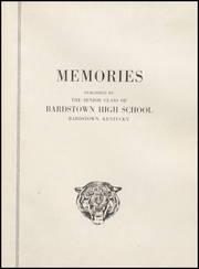 Page 5, 1946 Edition, Bardstown High School - Memories Yearbook (Bardstown, KY) online yearbook collection