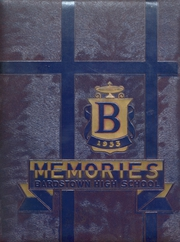 Page 1, 1953 Edition, Bardstown High School - Memories Yearbook (Bardstown, KY) online yearbook collection