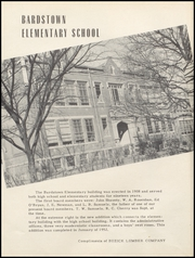 Page 6, 1953 Edition, Bardstown High School - Memories Yearbook (Bardstown, KY) online yearbook collection
