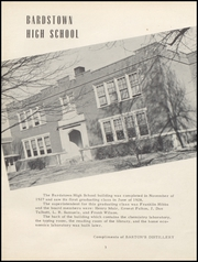 Page 7, 1953 Edition, Bardstown High School - Memories Yearbook (Bardstown, KY) online yearbook collection