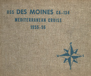 Page 1, 1956 Edition, Des Moines (CA 134) - Naval Cruise Book online yearbook collection