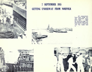 Page 10, 1956 Edition, Des Moines (CA 134) - Naval Cruise Book online yearbook collection