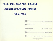 Page 5, 1956 Edition, Des Moines (CA 134) - Naval Cruise Book online yearbook collection