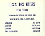 Page 6, 1956 Edition, Des Moines (CA 134) - Naval Cruise Book online yearbook collection