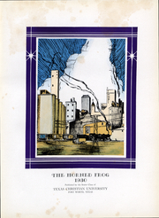 Page 5, 1930 Edition, Texas Christian University - Horned Frog Yearbook (Fort Worth, TX) online yearbook collection
