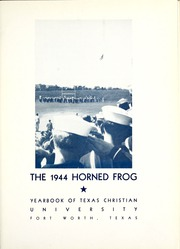Page 7, 1944 Edition, Texas Christian University - Horned Frog Yearbook (Fort Worth, TX) online yearbook collection