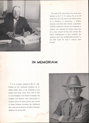 Page 8, 1949 Edition, Texas Christian University - Horned Frog Yearbook (Fort Worth, TX) online yearbook collection