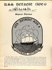 Page 14, 1973 Edition, Detroit (AOE 4) - Naval Cruise Book online yearbook collection