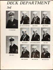 Page 16, 1991 Edition, Detroit (AOE 4) - Naval Cruise Book online yearbook collection