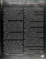 Page 7, 1995 Edition, Detroit (AOE 4) - Naval Cruise Book online yearbook collection