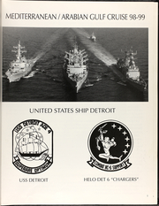 Page 5, 1999 Edition, Detroit (AOE 4) - Naval Cruise Book online yearbook collection