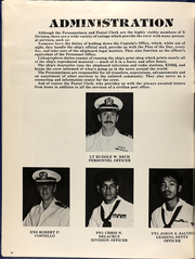 Page 12, 1984 Edition, Dubuque (LPD 8) - Naval Cruise Book online yearbook collection