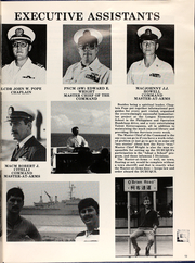 Page 15, 1984 Edition, Dubuque (LPD 8) - Naval Cruise Book online yearbook collection