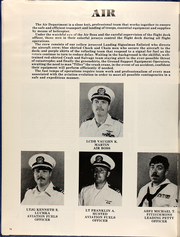 Page 16, 1984 Edition, Dubuque (LPD 8) - Naval Cruise Book online yearbook collection