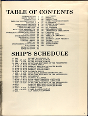 Page 7, 1984 Edition, Dubuque (LPD 8) - Naval Cruise Book online yearbook collection