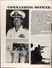 Page 8, 1984 Edition, Dubuque (LPD 8) - Naval Cruise Book online yearbook collection